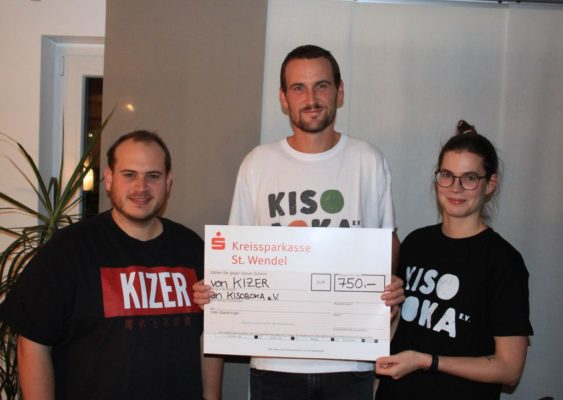 KIZER spendet 750 € an Kisoboka eV